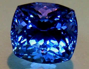 carats gemstone purple tanzanite vivid saturated pair stunning mm trillion blue quality cut in super